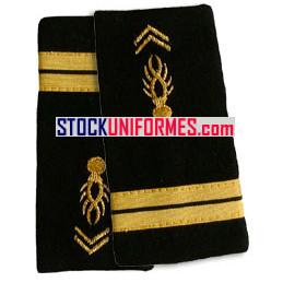 Lieutenant gendarmerie mobile fourreaux souples
