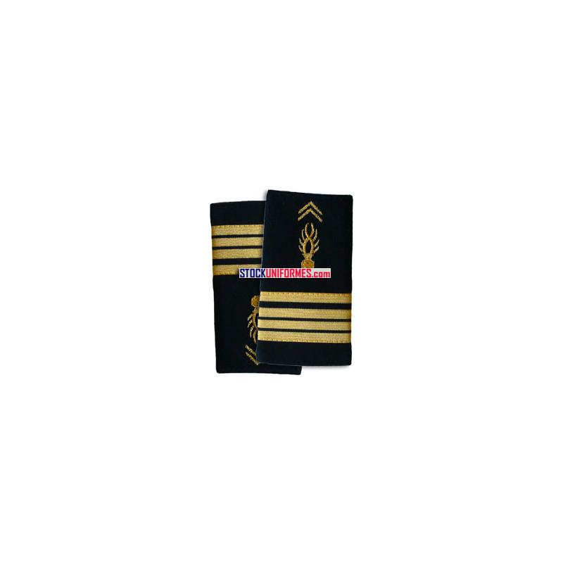 Commandant gendarmerie mobile fourreaux souples