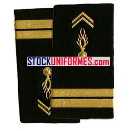 Lieutenant gendarmerie mobile fourreaux rigides