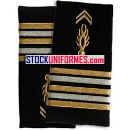 Lieutenant-Colonel gendarmerie mobile fourreaux rigides