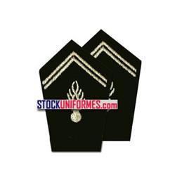 Grenades de col par paire pour vareuse gendarmerie départementale