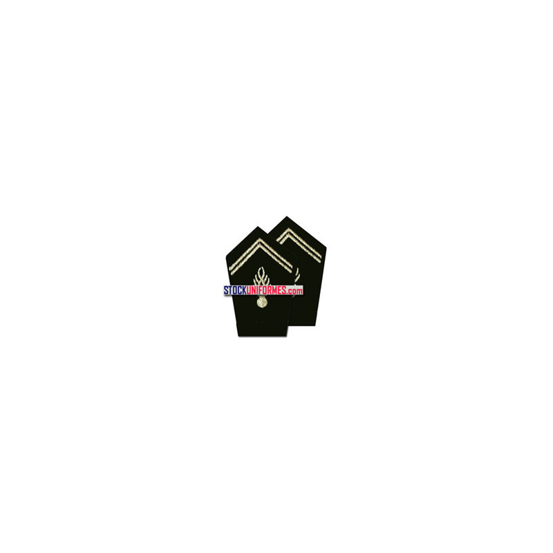 Grenades de col par paire pour manteau gendarmerie départementale