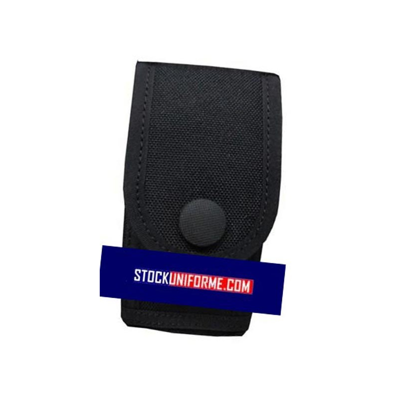 Porte smartphone en cordura noir