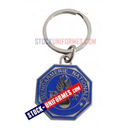 Porte clé gendarmerie bleu...