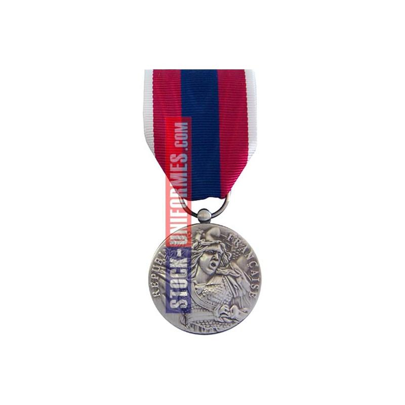 Médaille ordonnance Défense Nationale argent