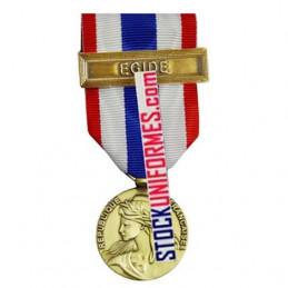 Médaille Protection Militaire du Territoire agrafe Egide