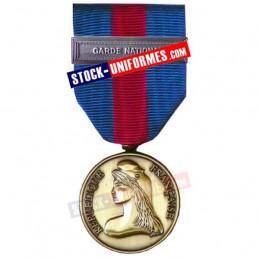 Médaille Bronze Réserviste Volontaire de Défense et Sécurité Intérieure - Garde Nationale