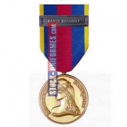 Médaille Or Réserviste Volontaire de Défense et Sécurité Intérieure - Garde Nationale