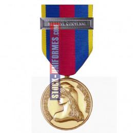 Médaille Or Réserviste Volontaire de Défense et Sécurité Intérieure - Réserve Citoyenne