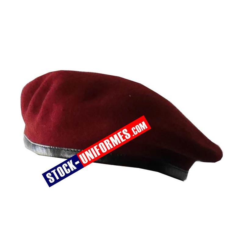 Béret militaire rouge