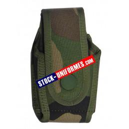 Porte menottes militaire en cordura camouflage centre Europe