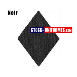 Velcro noir préformé - forme losange
