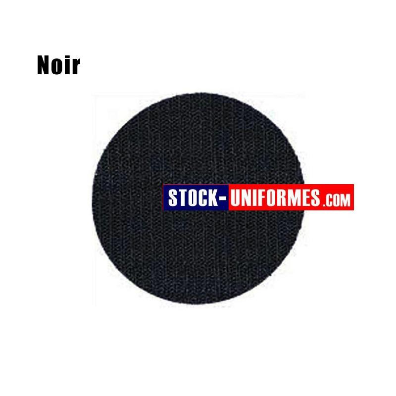 Velcro noir préformé - forme ronde