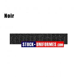 Velcro noir préformé - forme patronyme