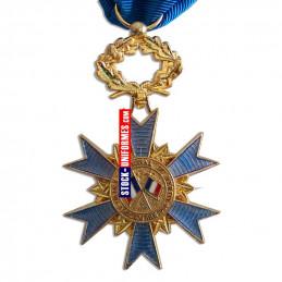 VERSO - Médaille ordonnance Ordre National du Mérite Officier - ONM