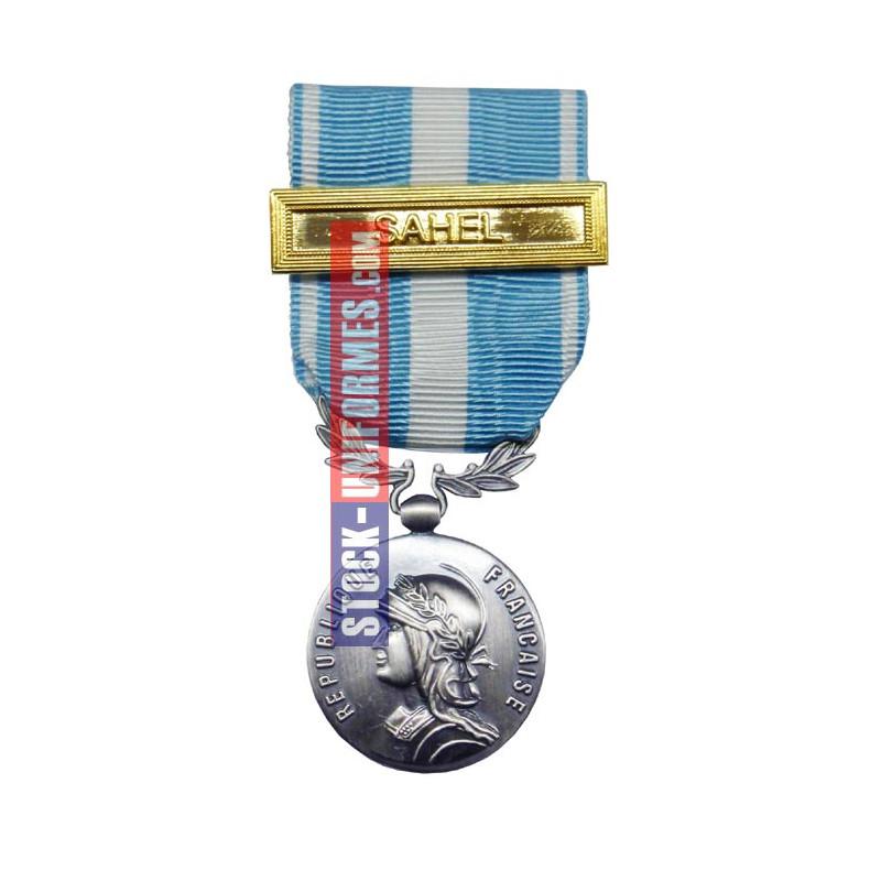 Outre-Mer médaille ordonnance agrafe SAHEL