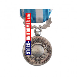 VERSO - Outre-Mer médaille ordonnance agrafe SAHEL