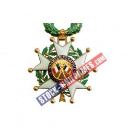 VERSO - Médaille ordonnance Légion d'Honneur Officier