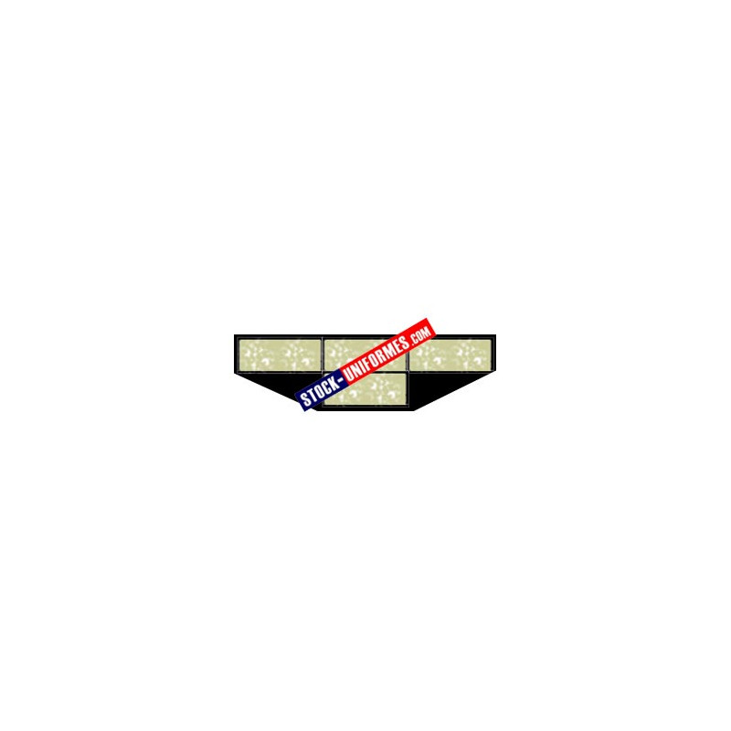 Barrette de décoration confectionnée - 4 rubans