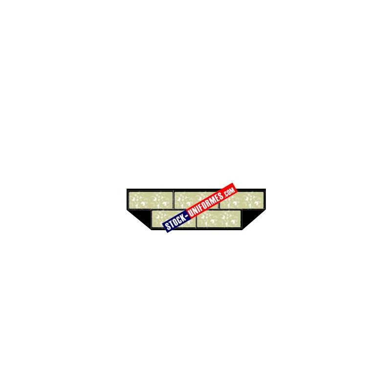 Barrette de décoration confectionnée - 5 rubans
