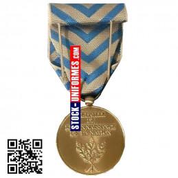 verso de la Médaille Reconnaissance de la Nation - TRN agrafe en option