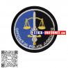 Ecusson brodé OPJ Officier de Police Judiciaire