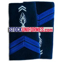 Adjoint Brigadier fourreaux d'épaules souples
