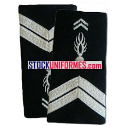 Gendarme fourreaux d'épaules souples