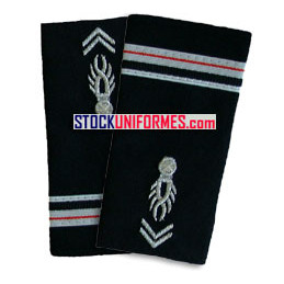 Major gendarmerie fourreaux souples