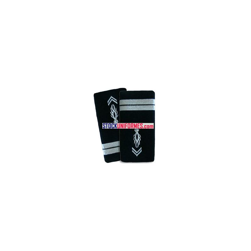 Lieutenant gendarmerie départementale fourreaux rigides