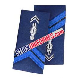 Adjoint Brigadier fourreaux d'épaules rigides