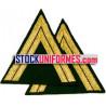 Gendarme mobile galons de manches