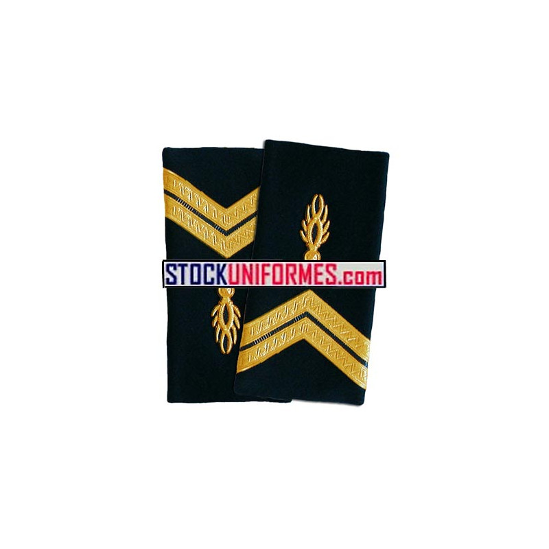 Gendarme garde républicaine fourreaux rigides