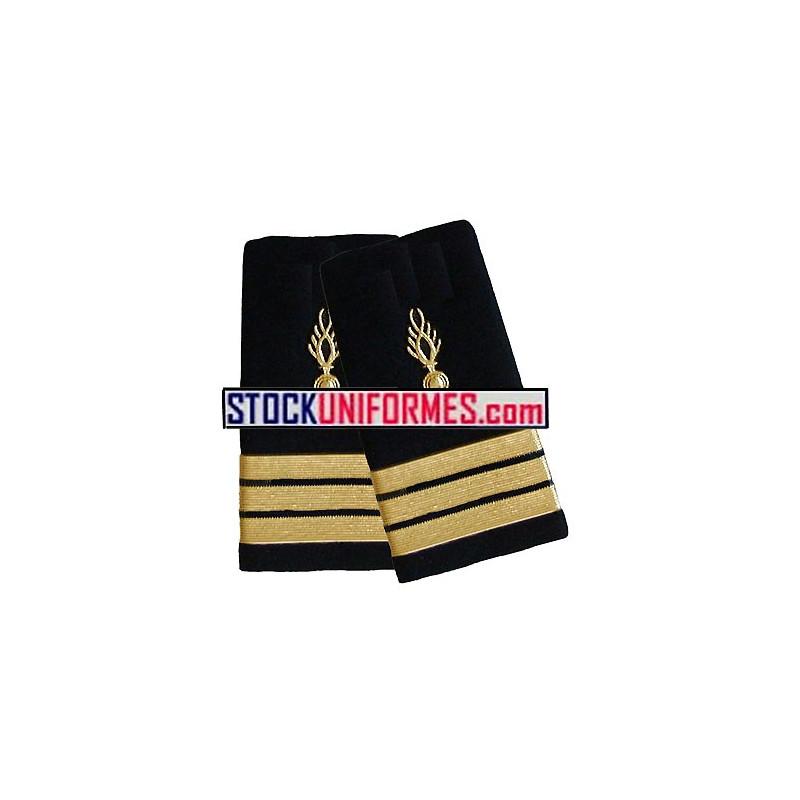 Capitaine garde républicaine fourreaux rigides