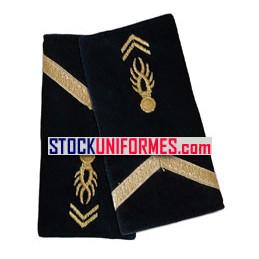 Sous-Contrat gendarmerie mobile fourreaux d'épaules souples