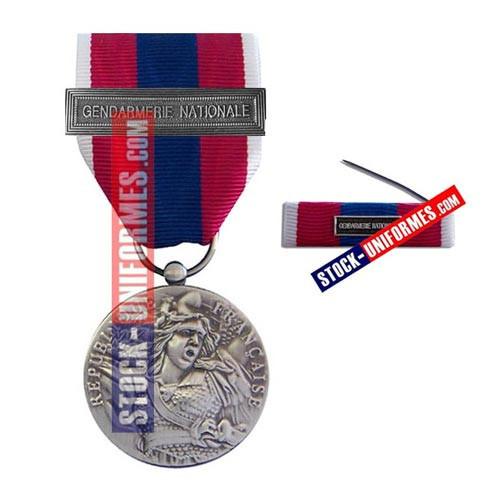 Médaille Défense Nationale Argent   boutique Stockuniformes.com