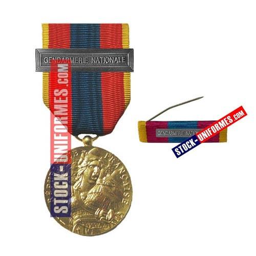 Médaille Défense Nationale Or | boutique Stockuniformes.com