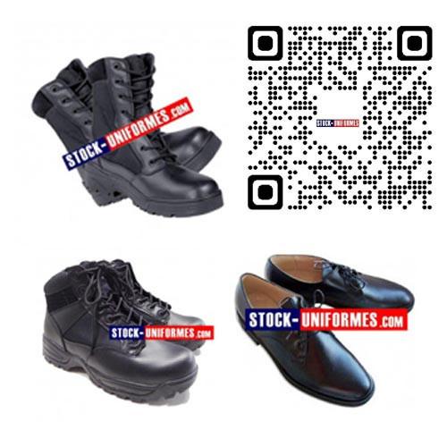 Chaussures rangers Agent de sécurité