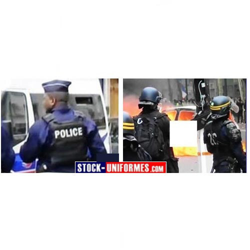 Police Nationale et Crs galon et calot