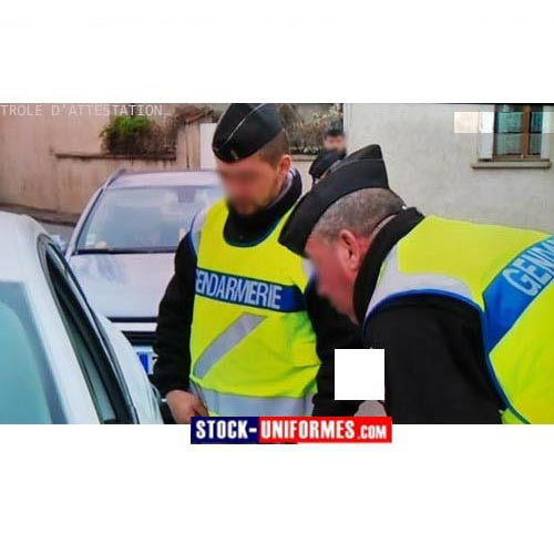 Gendarmerie service courant